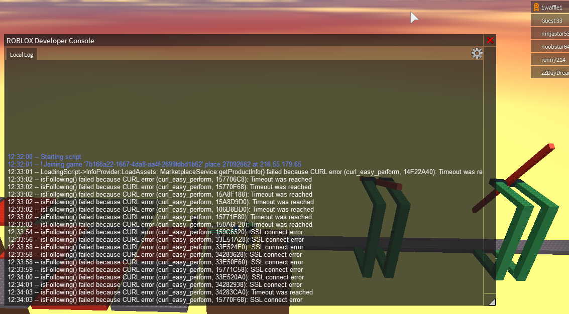 Developer Console Isn T Showing Server Log In My Own Game Engine