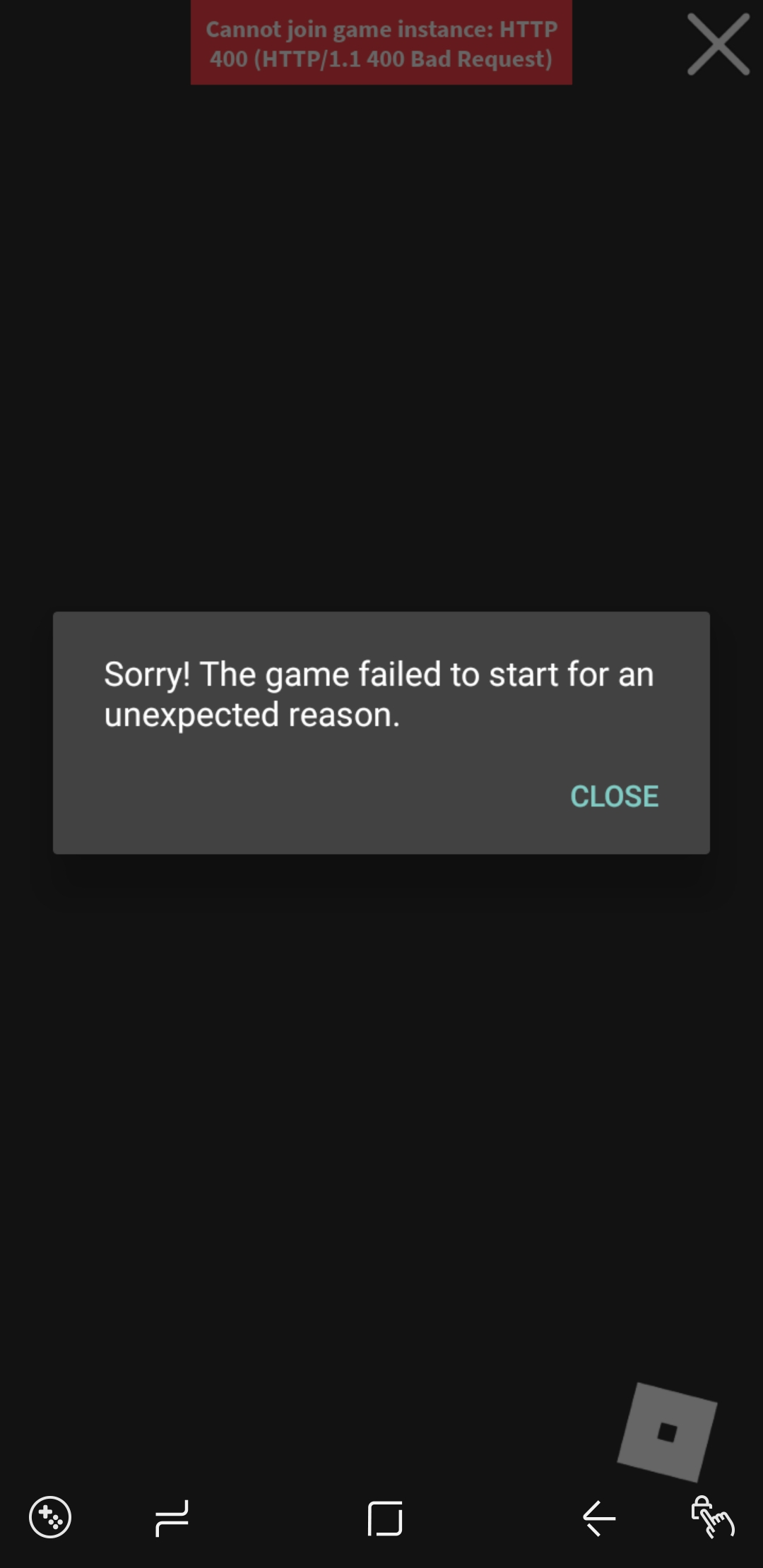 Roblox Player Launcher Failed Can T Launch Game On Mobile Scripting Support Roblox Developer Forum