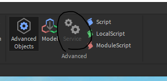 Service Button Is Grayed Out Studio Bugs Roblox Developer Forum