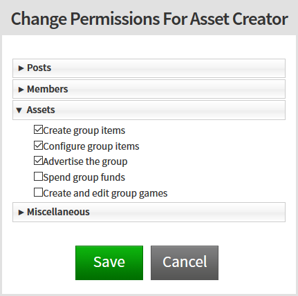 Group Permissions Appear To Be Broken Website Bugs Roblox
