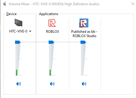 Roblox Always Tries To Play Sound Through Vive Engine Bugs