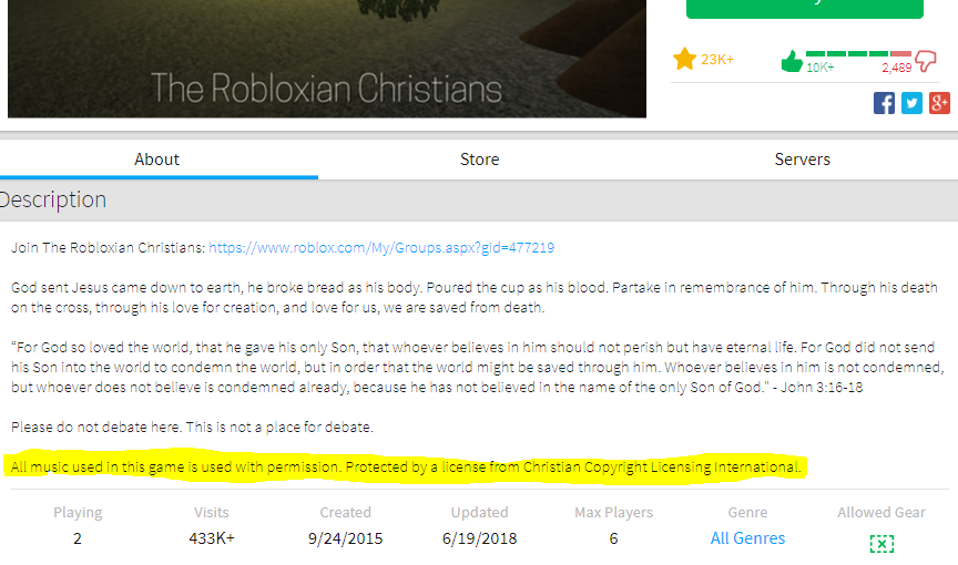 Music Copyright Flagging Is Live Today Announcements Roblox
