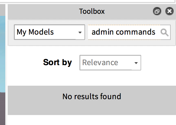 Toolbox Search Not Finding My Models Studio Bugs Roblox