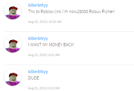Do Something To Stop Comment Spam Web Features Roblox Developer