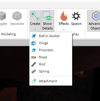 Option to create welds using the constraint tool Studio Features