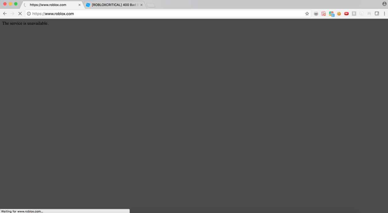 Roblox Problem 400 Can T Join Place 400 Bad Request Unknown Error Bug Engine Bugs Roblox Developer Forum