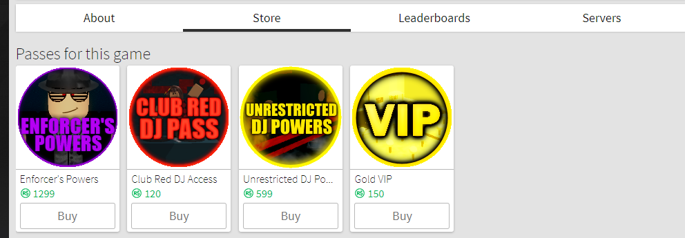 Roblox High School Glitch Dj Resolved Off Sale Gamepasses Are Being Displayed In The Store Tab Website Bugs Roblox Developer Forum