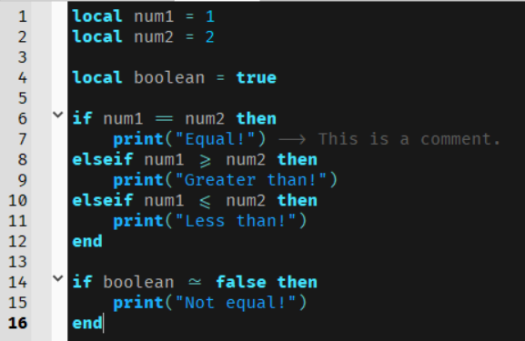 programmingligatures