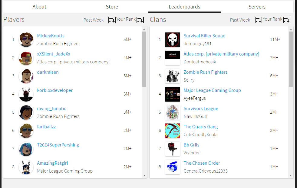 Clear Player Points Engine Features Roblox Developer Forum