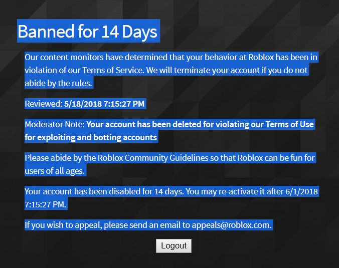 Roblox S Moderation Needs To Be Fixed Website Features Roblox