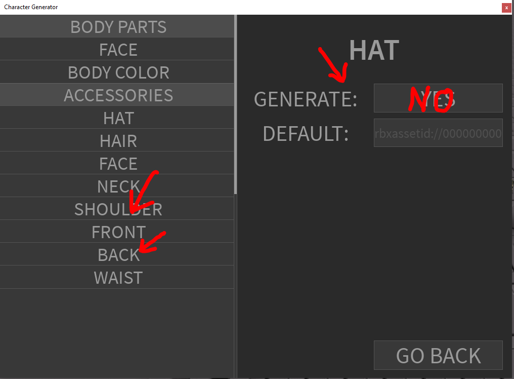 Roblox Three Letter Name Generator Character Generator Generate Completely Random Characters For Your Game Community Resources Roblox Developer Forum