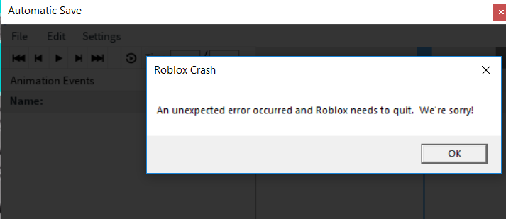 Why Is Animation Editor Doing This Scripting Support Roblox