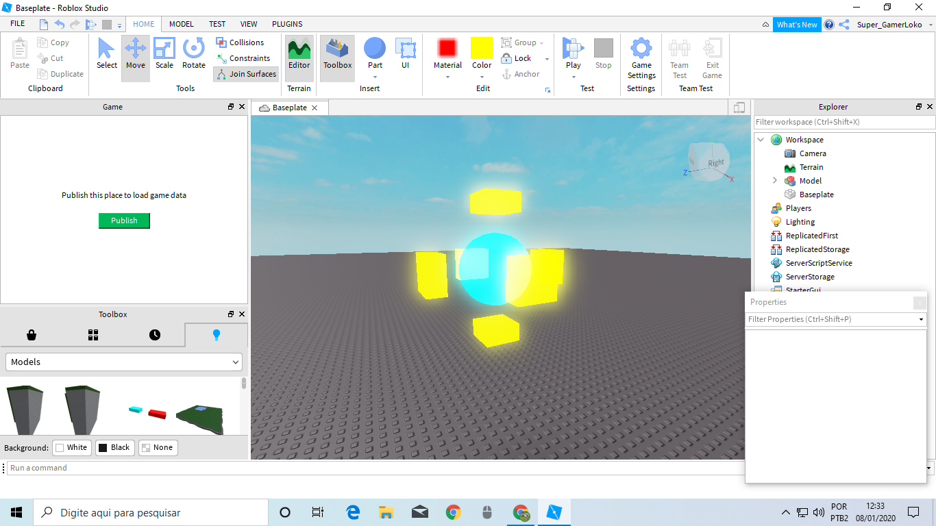 How To Make A Block Move Roblox Studio How I Make A Super Power Like Throwing A Plasma Ball With Some Effects On It That Moves And When It Touches Anything That Deletes And Add Sparkles Scripting Support