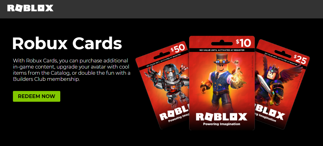 Somewhat Fixed I Cannot Redeem Roblox Cards On The Website