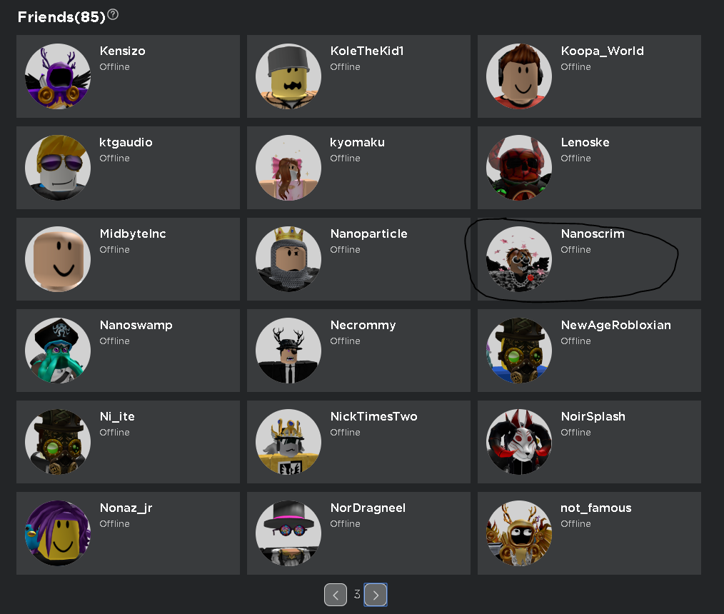 Roblox Offline Roblox Friends List Home Page Says Everyones Offline Website Bugs Roblox Developer Forum