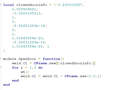 Roblox Head Ascii Rxgate Cf To Get How Can I Make This Table Weld C1 Into An Cframe Scripting Support Roblox Developer Forum