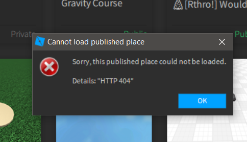 Cant Edit Play My Featured Roblox Game Studio Bugs Roblox