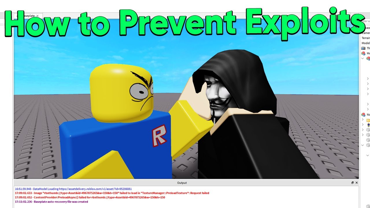 Fly Hack For Roblox How To Stop Certain Hack App That Sends Npcs Flying Scripting Support Roblox Developer Forum