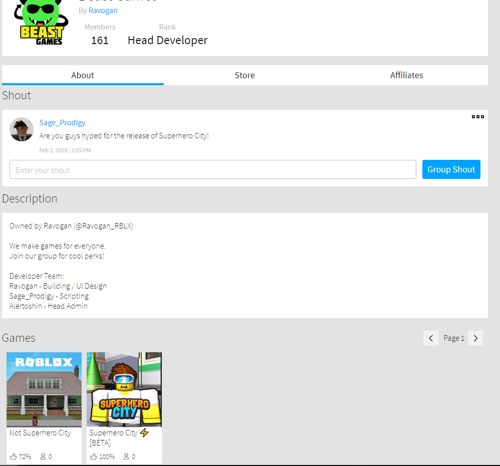 How To Make Roblox Ads For Groups On Computer Games Not Showing Up On New Group Page Website Bugs Roblox