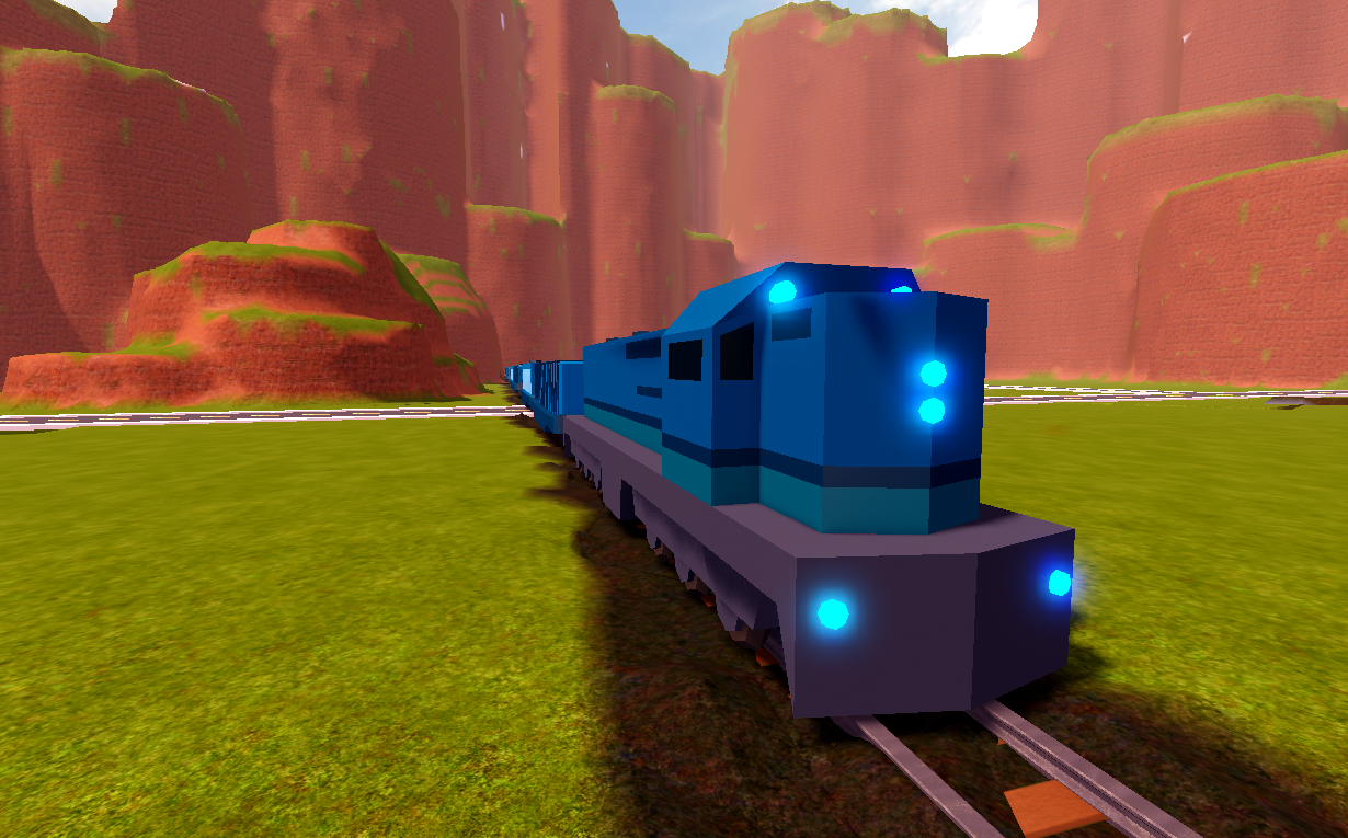 How Can I Make This Train Follow A Curved Path Scripting