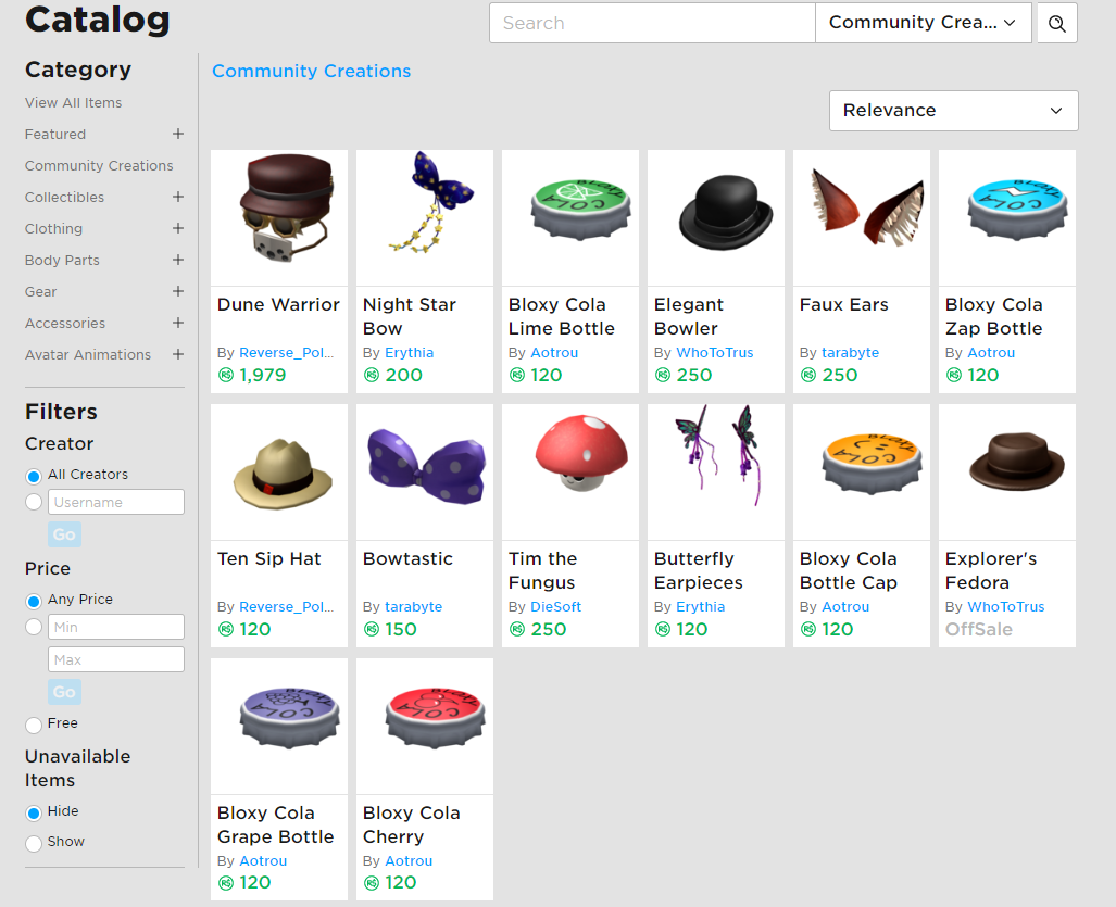 Roblox Limited Buying Bot Ugc Catalog Is Now Live Announcements Roblox Developer Forum
