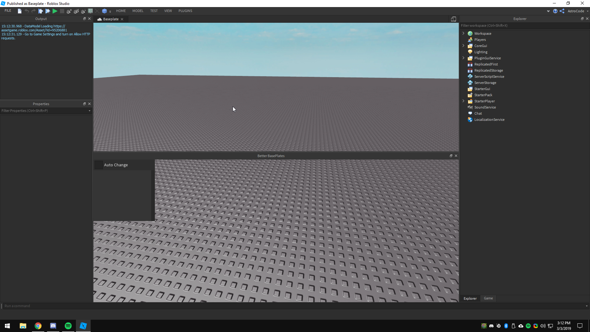 How To Delete A Baseplate In Roblox Studio